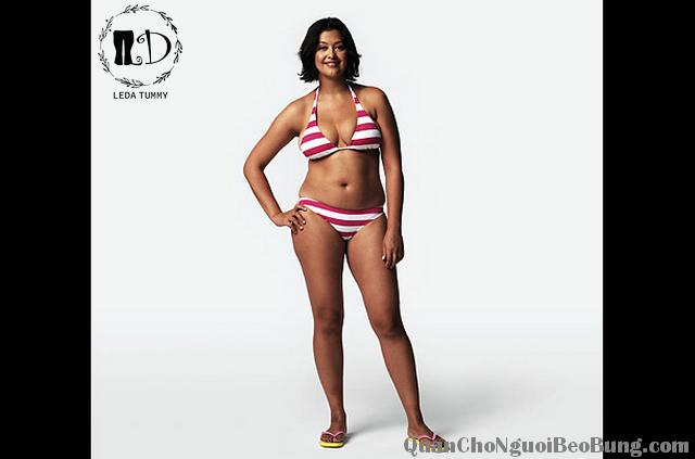 cách ăn mặc cho người béo