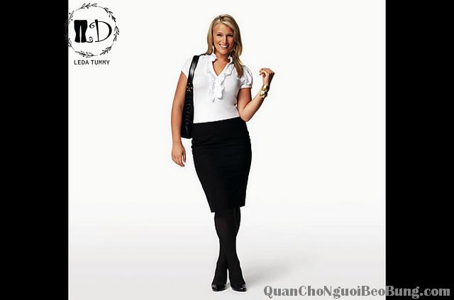 cách ăn mặc đẹp cho nữ béo