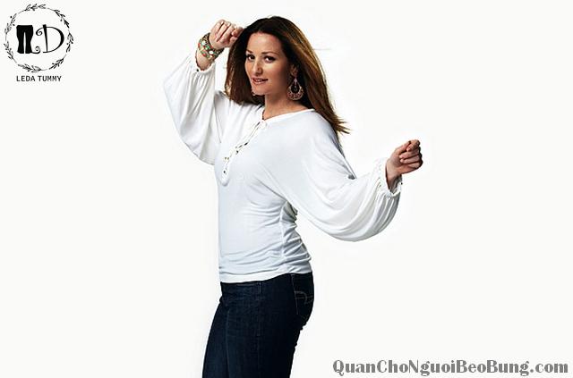 phong cách ăn mặc cho người béo